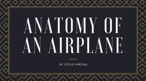 Anatomy of an airplane