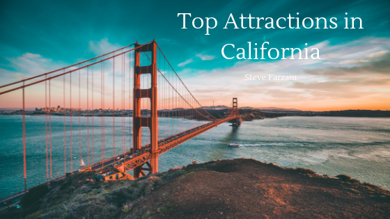 Top Attractions in California