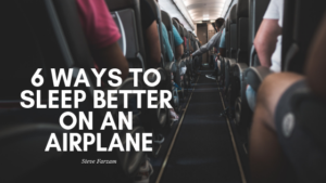 Sleep on Plane Steve Farzam