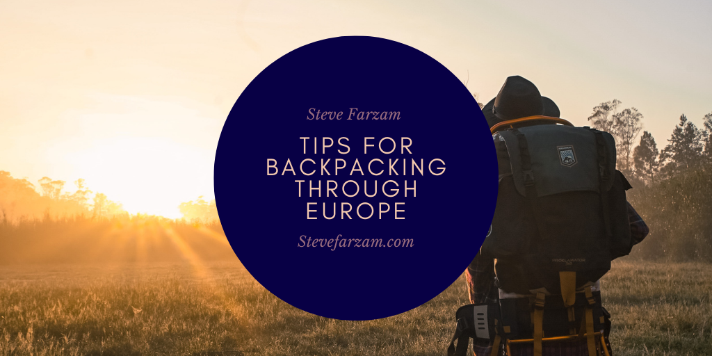 Tips for Backpacking Through Europe